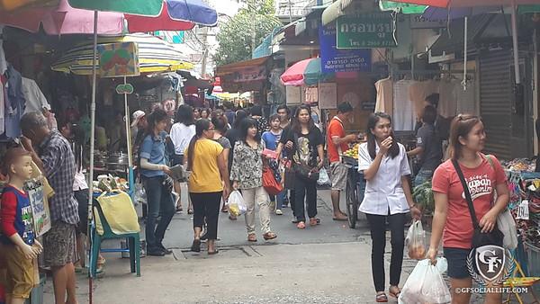 Wang Lang Market(วังหลัง) & Sampeng Lane Market(สัมเพ็ง)