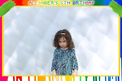 Alexander's 5th Birthday