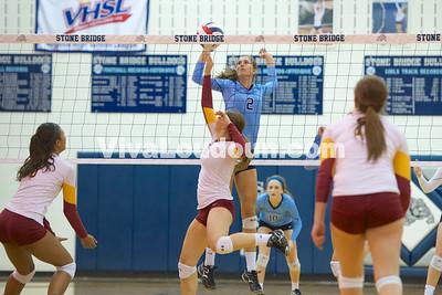 Volleyball: Broad Run vs. Stone Bridge 10.16.14 (by Jeff Scudder)