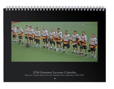 2016 Germany Lacrosse Calendar (WILC2015)
