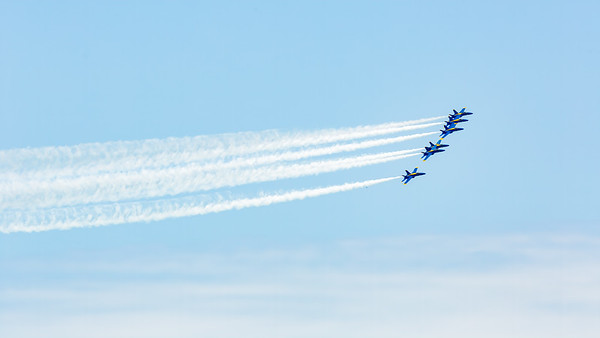 Blue Angels Flyover - May 6, 2020