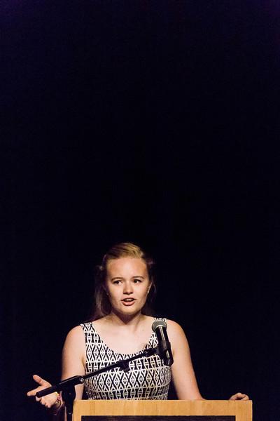 11 au 15 Juillet 2017 - jour 5 - Arts Oratoires - performance de Lelia Kostiuk  pour la CB