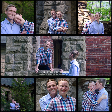Squires Castle | James and Kevin | Shuttrup Engagement Session