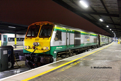 Portlaoise / Dublin (Rail), 31-10-2016