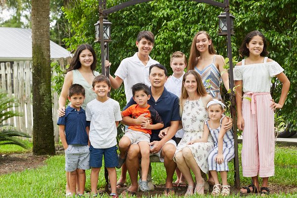 The Abellar Family Session