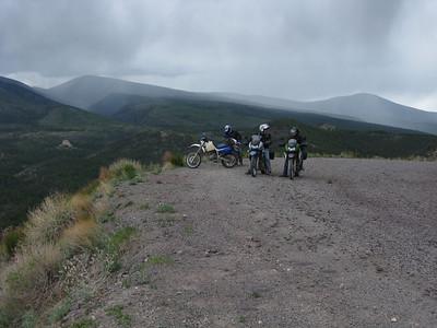 Jemez Mtns. - ADV Valles Caldera Loop Part Deux DS Ride  5-30-09