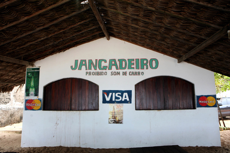 A canteen on the beach in a small village north of Fortaleza, Brazil.