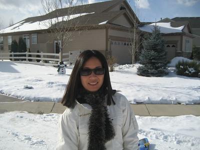 Sledding Dec 31, 2007