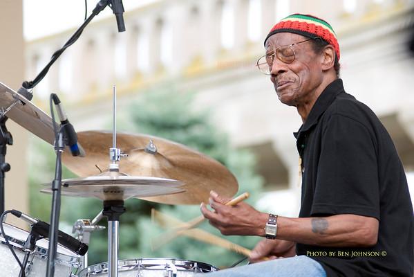Drummer Billy James - Photos
