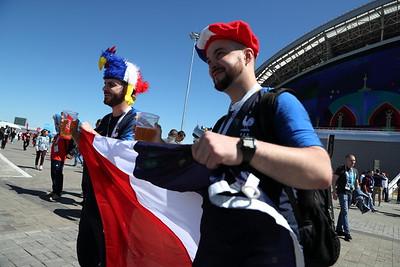 Матч Франция - Австралия ЧМ-2018 ( Михаил Захаров )