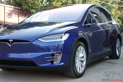 2017 Tesla Model X - Deep Blue Metallic
