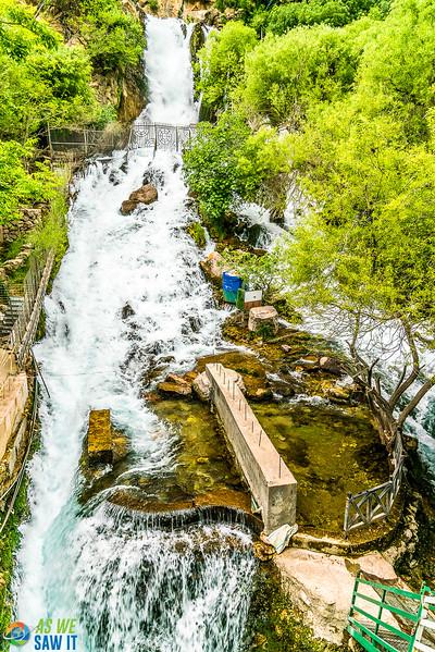 Ahmad Awa Waterfalls