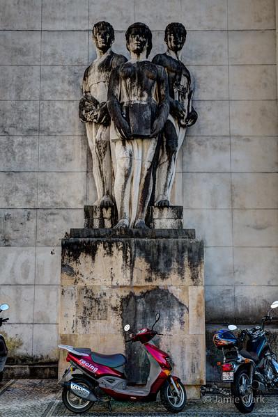 Social Realism @ Coimbra, Portugal - October, 2015
