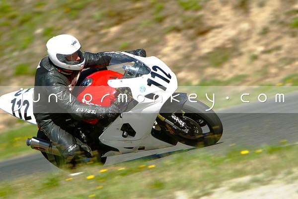 #112 - White Red GSXR