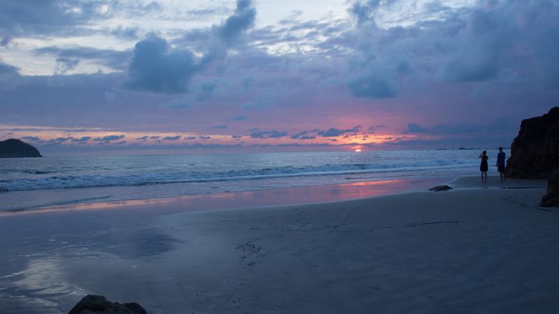 Sunset at Manuel Antonio, Costa Rica
