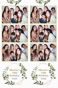 5/8/21 - Marian's 18th Birthday
