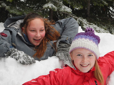Outdoor Snow Camping 2-2-19