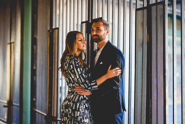 NNK - Amanda and Harry - Engagement - Hoboken Train Station (13 of 77)