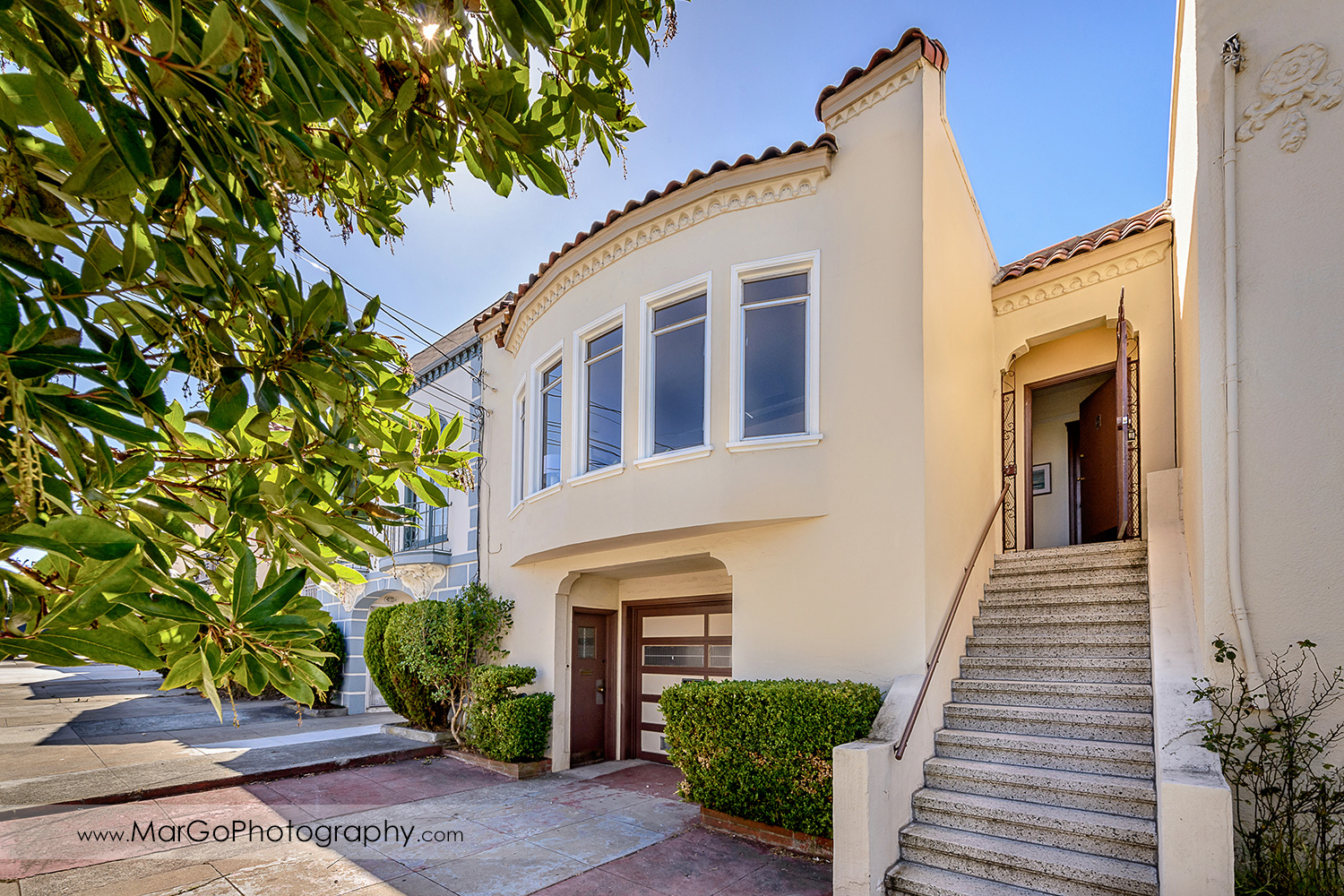 street view of San Francisco house - real estate photography