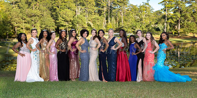 2017 East Coweta Homecoming Court