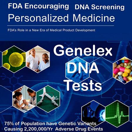 Genelex PharmacoGenetic DNA Screening