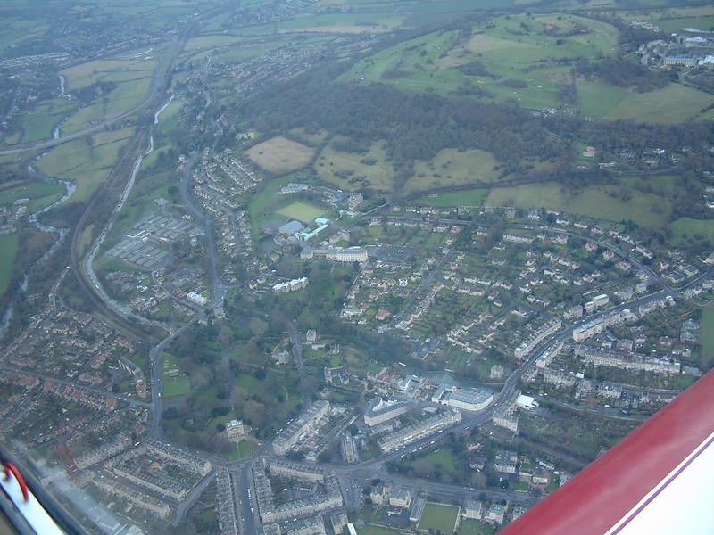 Bath aerial photo, December 2001