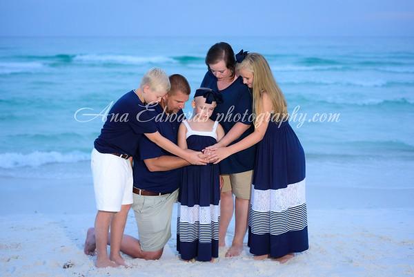 The Sanders family  |  Panama City Beach