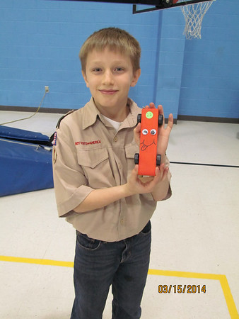 Pinewood Derby 3/2014