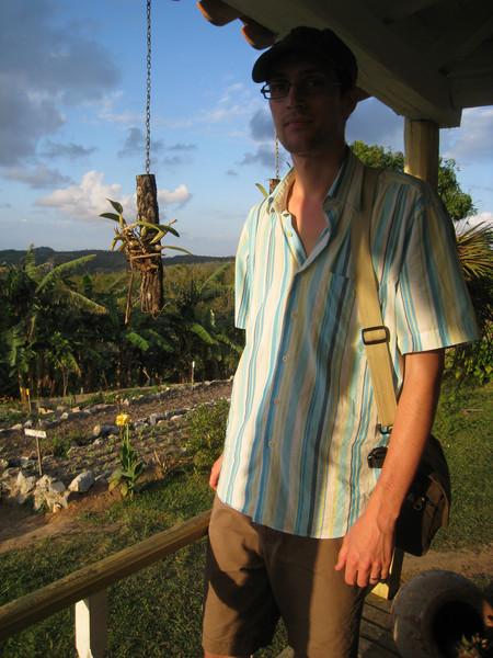 Organic farm behind Mat