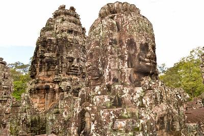 Bayon Temple of Ankgor Thom in Siam Reap, Cambodia