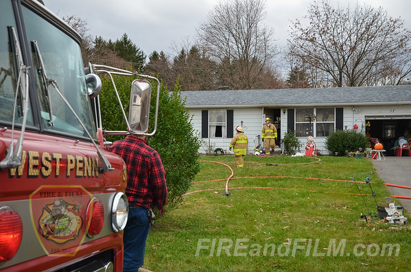 Schuylkill County - West Penn Twp. - Dwelling Fire - 11/26/2016