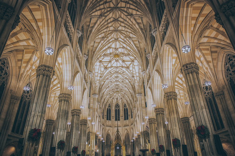 St. Patrick cathedral - Inside
