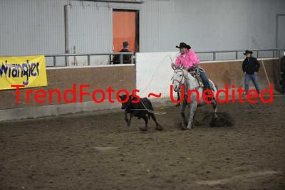 Calf Roping Finals
