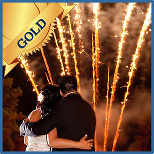 59804 Fireworks show Gold