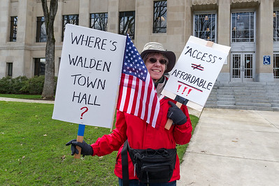 Medford Rally #5 - Where is Walden?