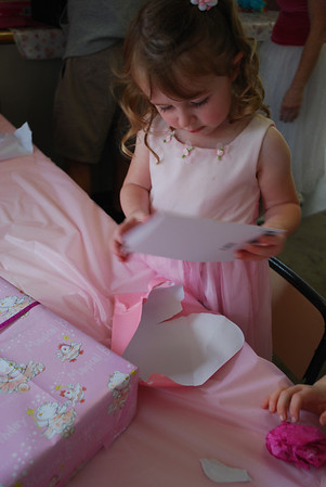 Hannah's 3rd Birthday 2012