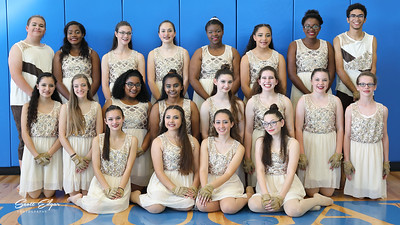 Somerset Academy Canyons Color Guard 2018