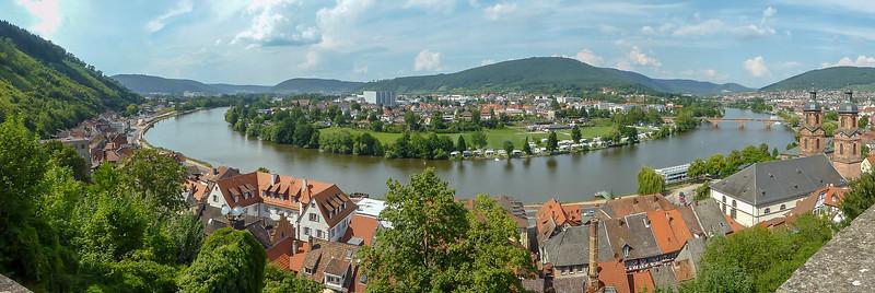 Medieval Miltenberg, Bavaria, Germany.