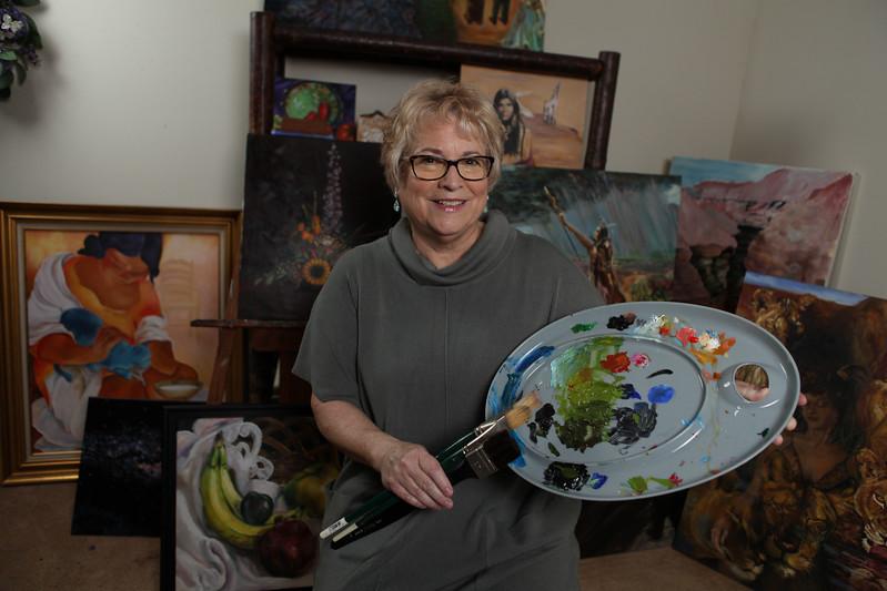 Artist Cyntha Baugton