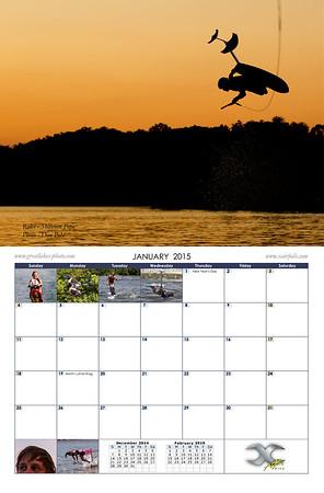 2015 Hydrofoil Calendar