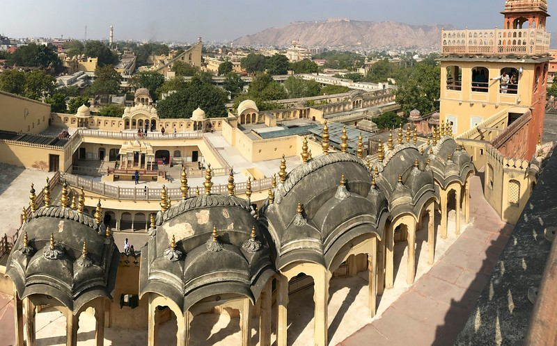 View from the rooftop of Hawa Mahal, Jaipur