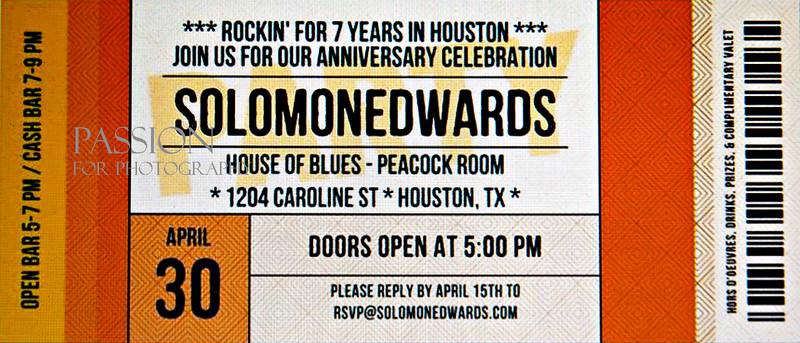 2014 Solomon Edwards 7 Year Anniversary House of Blues