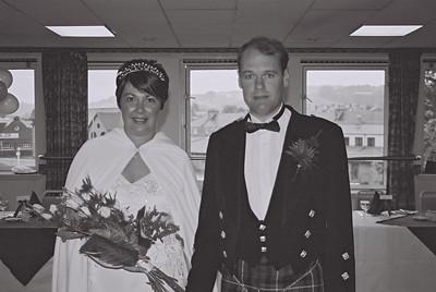 2004 Scotland Kenny Carol Wedding B&W