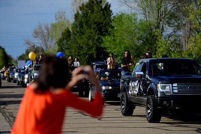 Photos: Frederick High School Seniors Car Parade