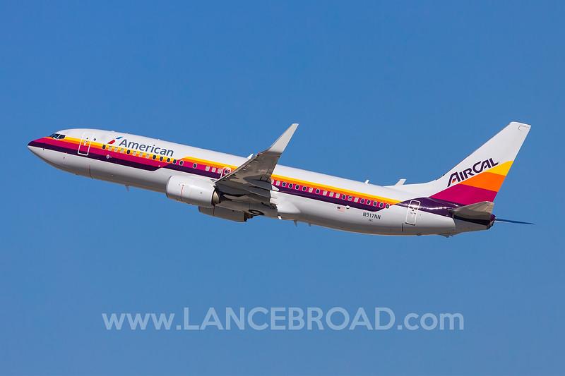 American 737-800 - N917NN - LAX