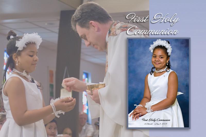James 1st Communion photos