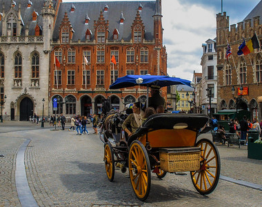 Historic Bruges, Belgium and Trier, Germany