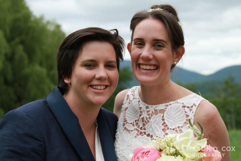 Seston & Burns Wedding | #twoburnsbrides