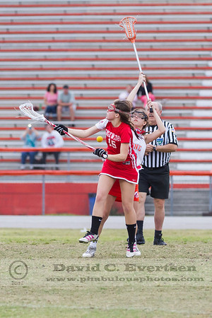 Girls JV Lacrosse - 2013