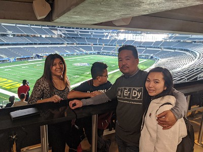 2019-12-23 Touring the AT&T Dallas Cowboys Stadium